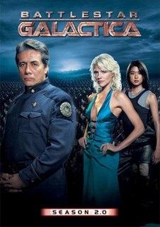 <i>Battlestar Galactica</i> (season 2) second season of the reimagined science fiction television series Battlestar Galactica