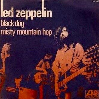 Black Dog (song) - Image: Black Dog 45