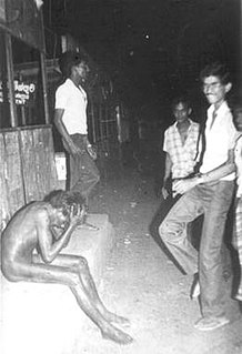 Black July anti-Tamil riots in Sri Lanka