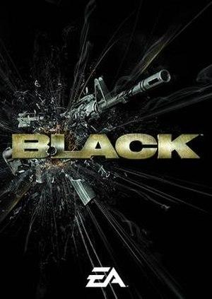 Black (video game) - PAL cover art