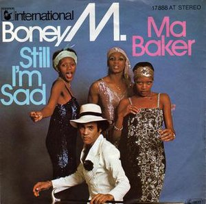 Ma Baker - Image: Boney M. Ma Baker (1977 single)