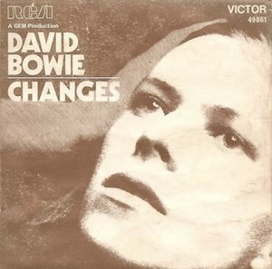 Changes (David Bowie song) - Image: Bowiechanges