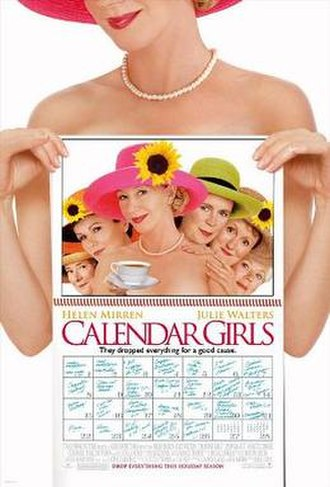 Calendar Girls - Theatrical release poster