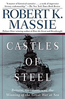 <i>Castles of Steel</i> book by Robert K. Massie