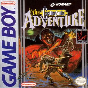 Castlevania: The Adventure - North American box art