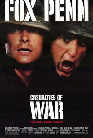 Casualties of War - Theatrical poster