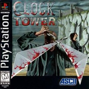 Clock Tower (1996 video game) - Image: Clock Tower 1 Game