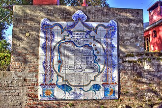 Colonia del Sacramento - Image: Colonia map tiles TM