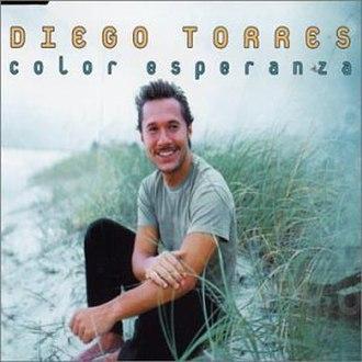 Color Esperanza - Image: Color Esperanza single cover