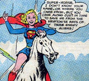 Comet (DC Comics) - Image: Comet action 292