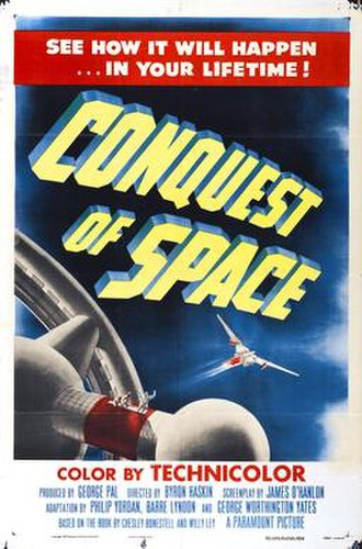 Conquest of Space - Theatrical release poster