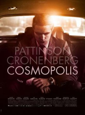 Cosmopolis (film) - Theatrical release poster