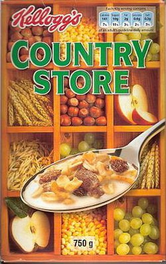 Country Store (muesli) - A box of Kellogg's Country Store