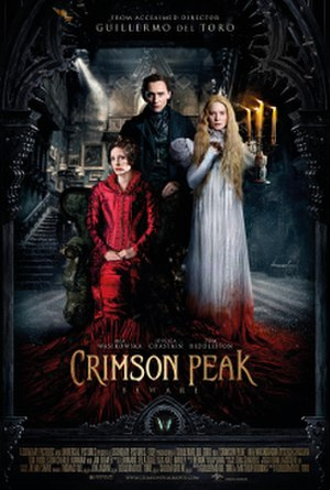 Crimson Peak - Theatrical release poster