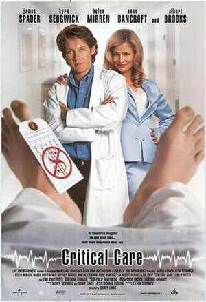 Critical Care (film) - Theatrical release poster