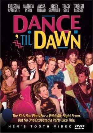 Dance 'til Dawn - DVD cover