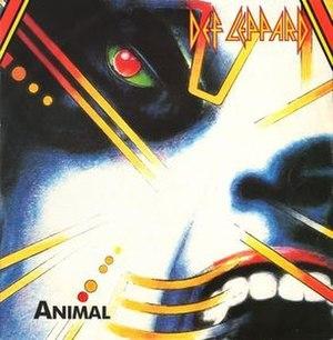 Animal (Def Leppard song) - Image: Def leppard animal