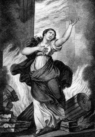 Didone abbandonata (Sarro) - The final scene in Metastasio's libretto, Didone Abandonata, by Cecilio Rizzardini