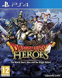 <i>Dragon Quest Heroes: The World Trees Woe and the Blight Below</i> 2015 action role-playing game