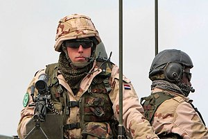 Dutch forces in Afghanistan.