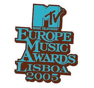 2005 MTV Europe Music Awards - Image: EMA2005LOGO