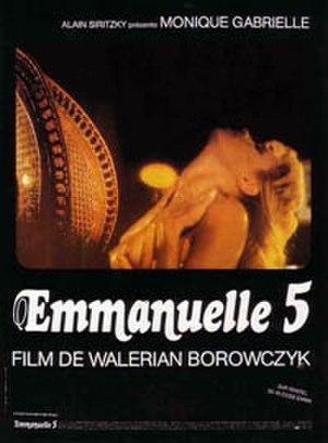 Emmanuelle 5 - Film poster