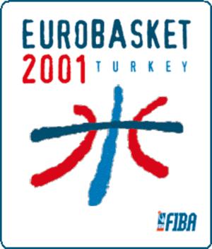 EuroBasket 2001 - Image: Euro Basket 2001 logo