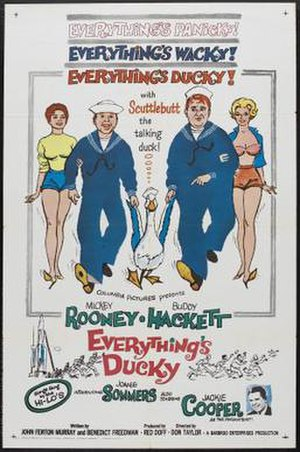 Everything's Ducky - Theatrical release poster