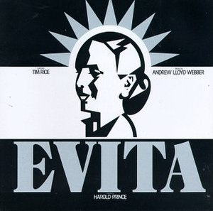 Evita (musical) - Cover of Original Broadway Recording