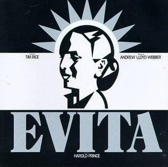 Evita (musical) - Cover of Original Broadway Recording
