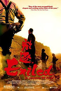 <i>Exiled</i> 2006 film by Johnnie To