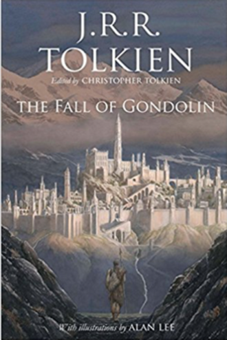 The Fall of Gondolin - Front cover of the 2018 hardback edition