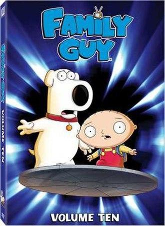 Family Guy (season 9) - Image: Family Guy Vol. 10 DVD
