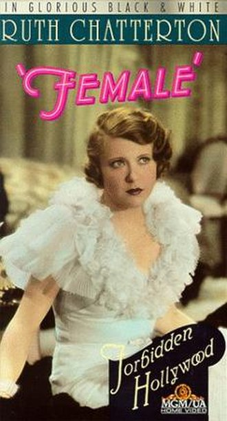 Female (1933 film) - VHS cover