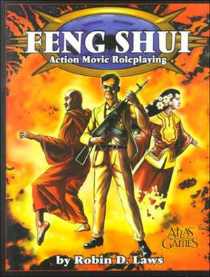Feng Shui (role-playing game) - Image: Feng Shui RPG Cover