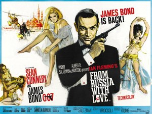 From Russia with Love (film) - Image: From Russia with Love – UK cinema poster