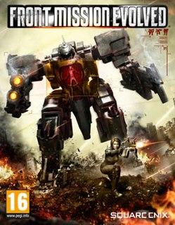 <i>Front Mission Evolved</i> video game