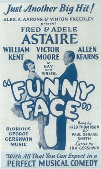 Funny Face (musical) - Image: Funny Face 1927