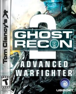 Tom Clancy's Ghost Recon Advanced Warfighter 2 - Image: Ghost Recon Advanced Warfighter 2 Game Cover