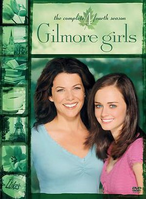 Gilmore Girls (season 4) - Season 4 DVD cover