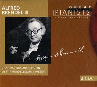 1999 compilation album by Alfred Brendel