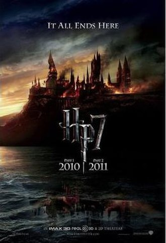 Production of Harry Potter and the Deathly Hallows - Image: HP7part 1+2poster