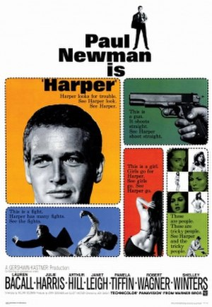 Harper (film) - Original cinema poster