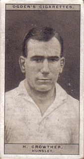 Hector Crowther GB & England international rugby league footballer