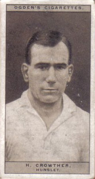 Hector Crowther - Ogden's Cigarette card featuring Hector Crowther
