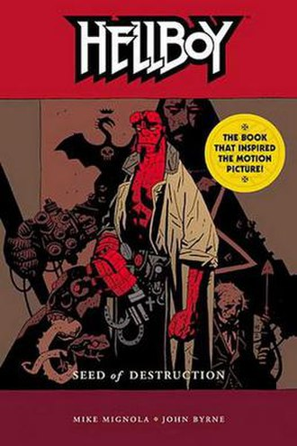 Hellboy: Seed of Destruction - Cover of Hellboy: Seed of Destruction TPB.
