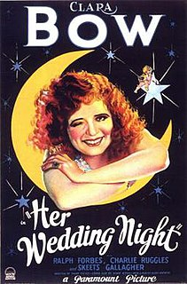 <i>Her Wedding Night</i> 1930 film