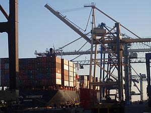 cargo handling in port said