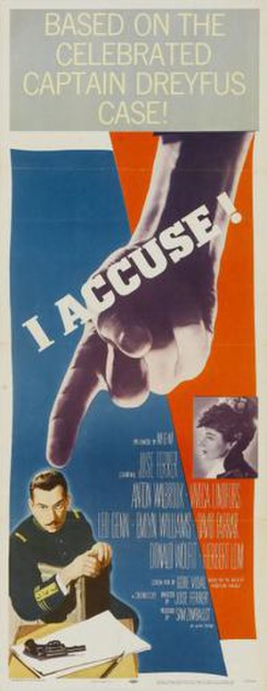 I Accuse! - Image: I Accuse! Film Poster