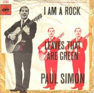 I Am a Rock - Image: I Am a Rock Paul Simon